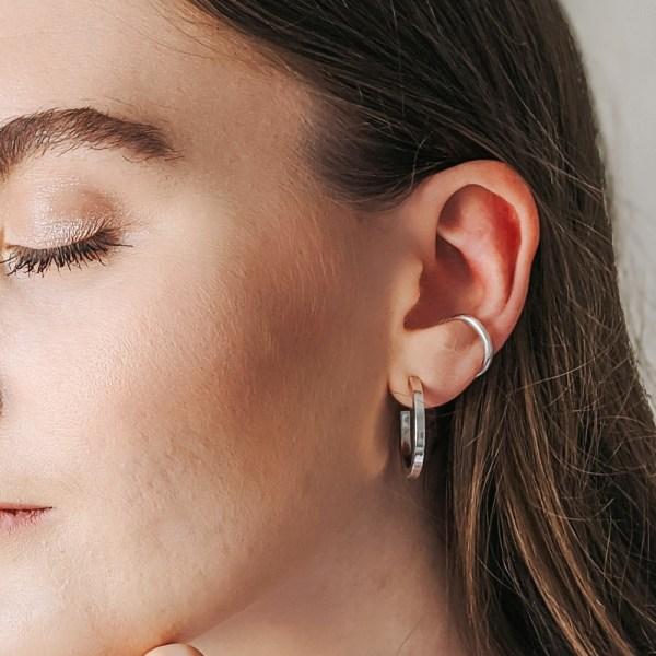 Essential Ear Cuff - Silver