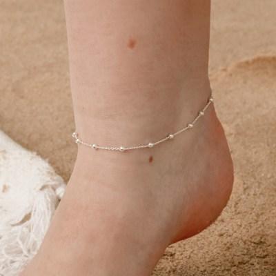 Satellite Beaded Anklet