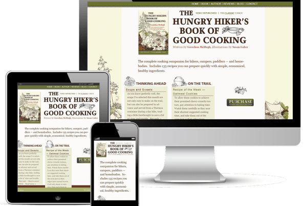 Hungry Hiker Website