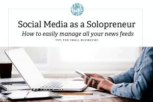 Social Media as a Solopreneur