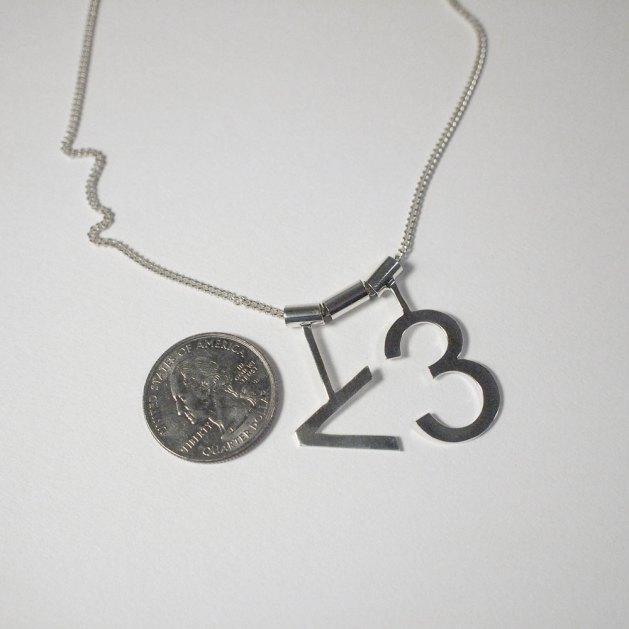 Laser Cut Ascii Heart Necklace Becky Stern