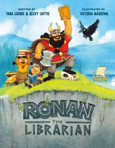 Picture book cover: RONAN THE LIBRARIAN