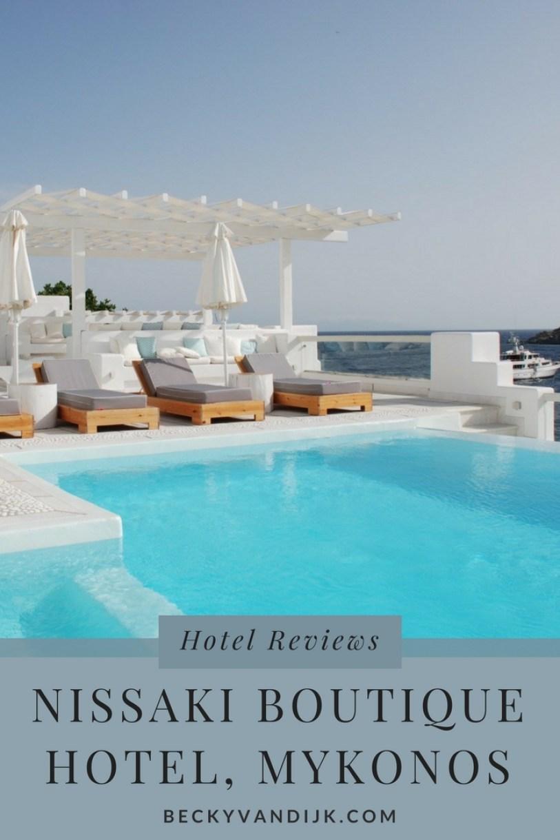 NISSAKI BOUTIQUE HOTEL MYKONOS GREECE