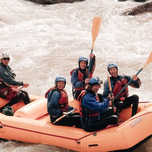 White Water Rafting In Mendoza, Argentina