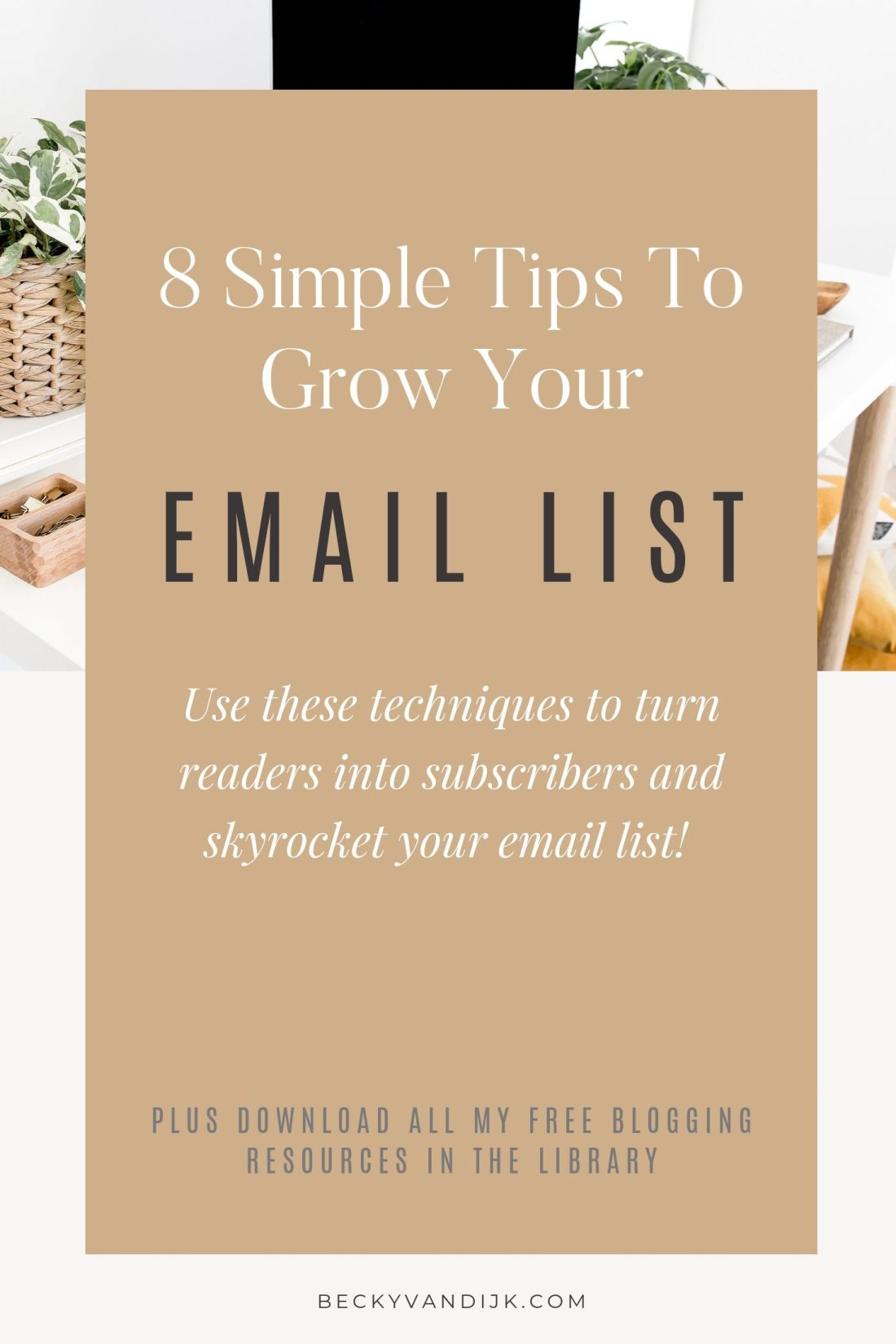 8 Simple Ways To Grow Your Email List