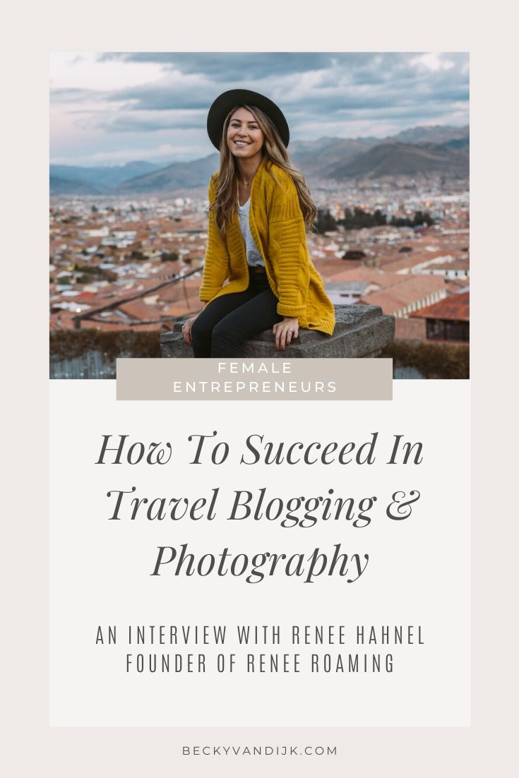 pinterest cover interview with renee hahnel