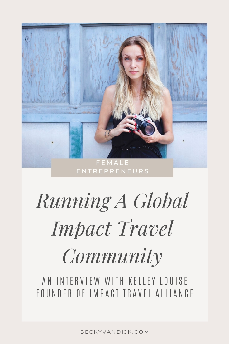 interview kelley louise impact travel alliance