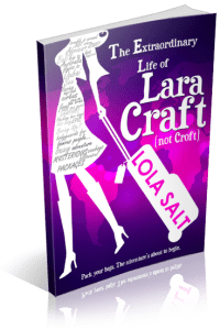 Come be a host on our blog tour! Sign ups are live for The Extraordinary Life of Lara Craft (not Croft)…