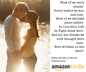 Exclusive sneak preview of 'Before He Was A Secret', plus announcing the winner of the $100 Amazon voucher…