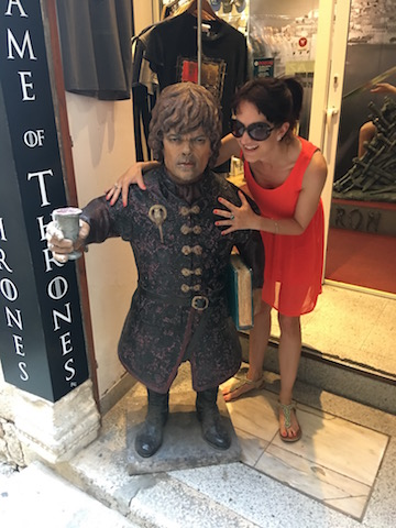 Pose with Tyrian Lannister