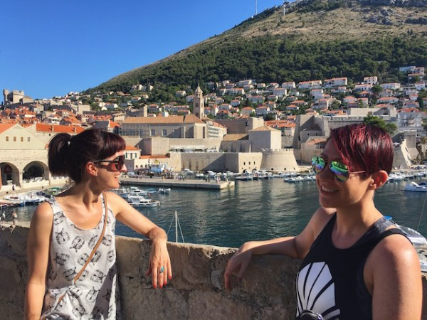 Views from the Dubrovnik city walls