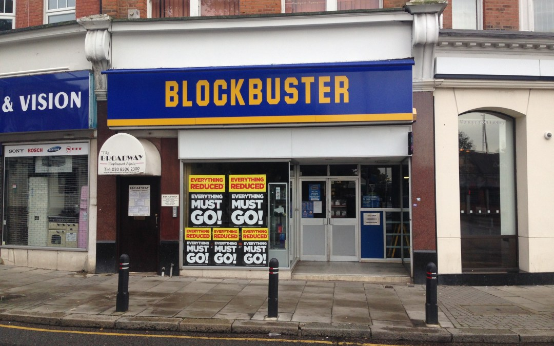 Bye Bye Blockbuster