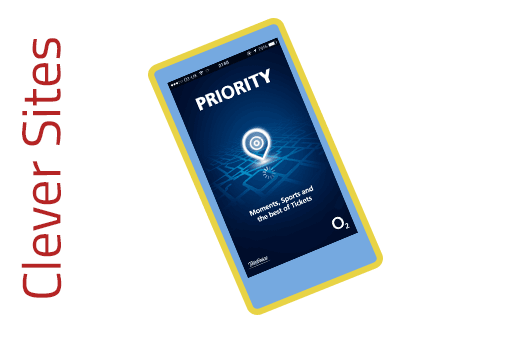 Clever Site: O2 Priority Moments