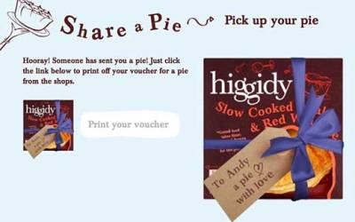 Free Higgidy Pie
