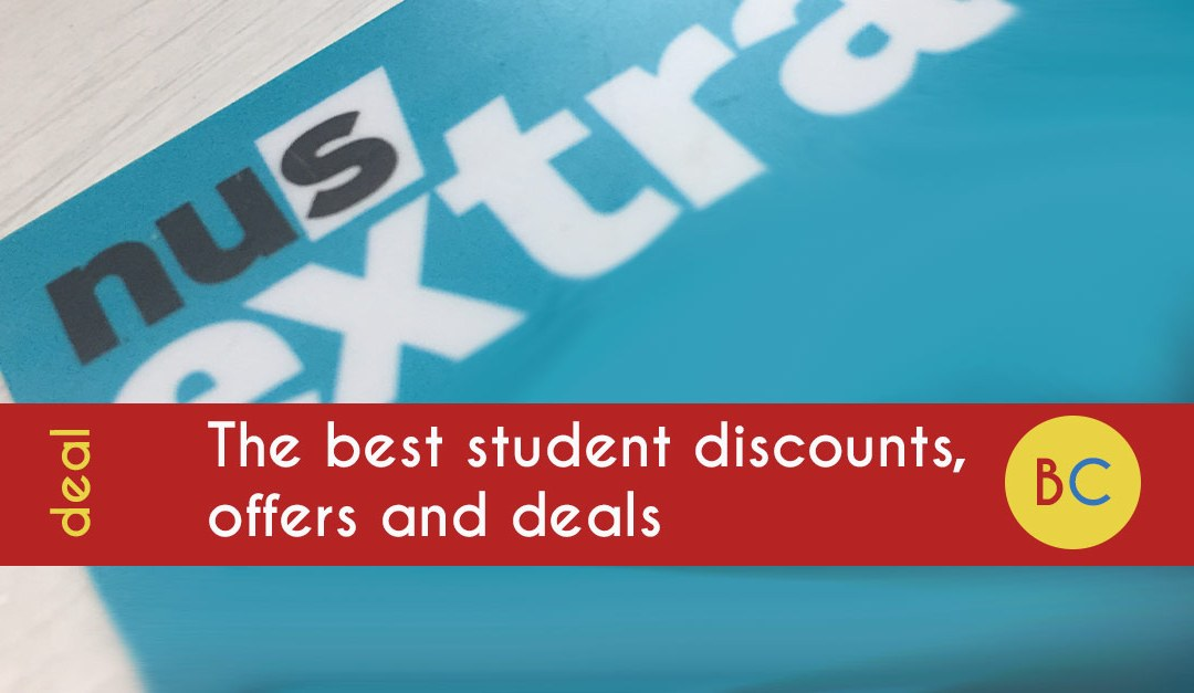 The Best Student Discounts Offers And Deals Be Clever With Your Cash