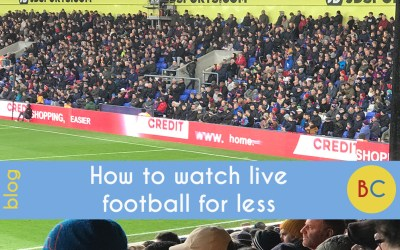 How to go to live football matches for less