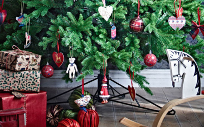 REAL Christmas tree and £20 voucher for £25 at Ikea