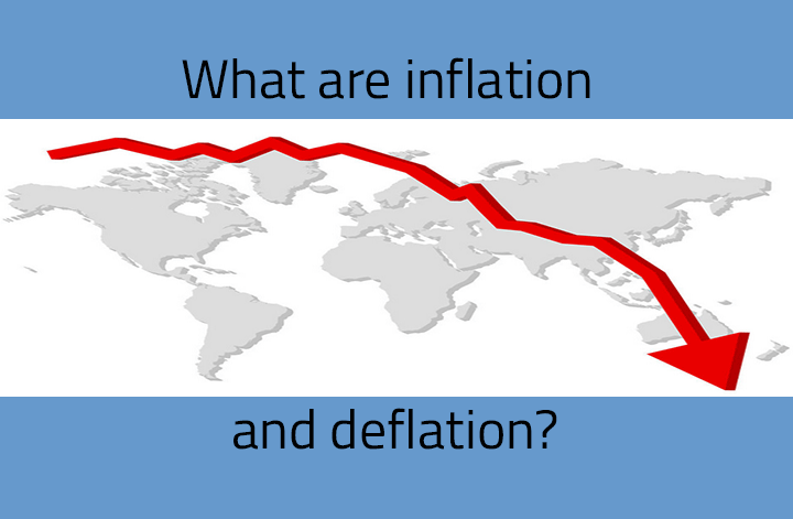 What are inflation and deflation?