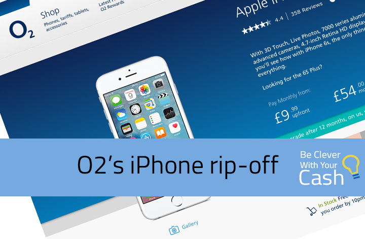 O2's iphone rip-off
