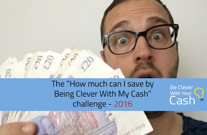 be clever with your cash savings challenge
