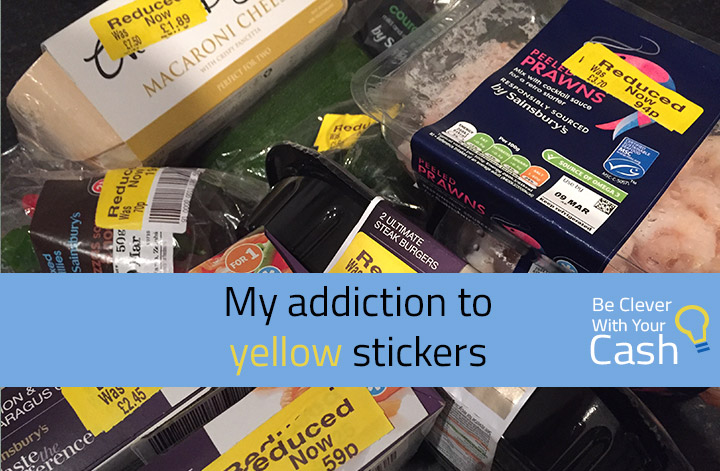 My addiction to yellow reduced stickers