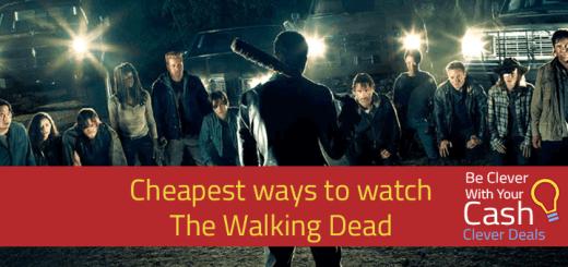 cheapest walking dead