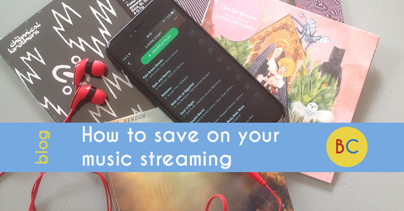 Save on music streaming