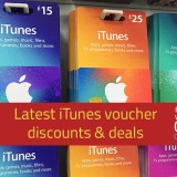 latest itunes voucher deals and offers