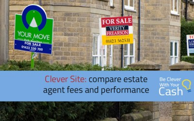 Clever Site: Compare estate agent fees