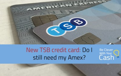 New TSB cashback credit card: do I need my Amex?