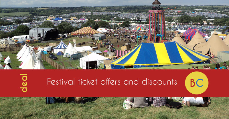Cheap festival and gig tickets – Festival flash sales, inc 2-4-1 Bestival