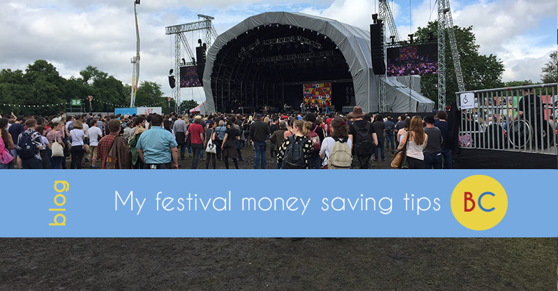 Festival ticket money saving tips