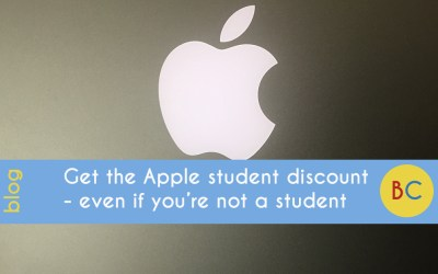 Get an Apple student discount even if you're not a student