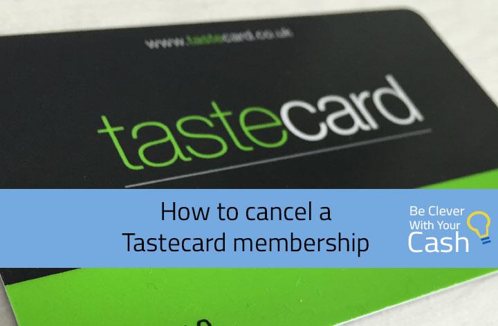 Tastecard cancel online dating