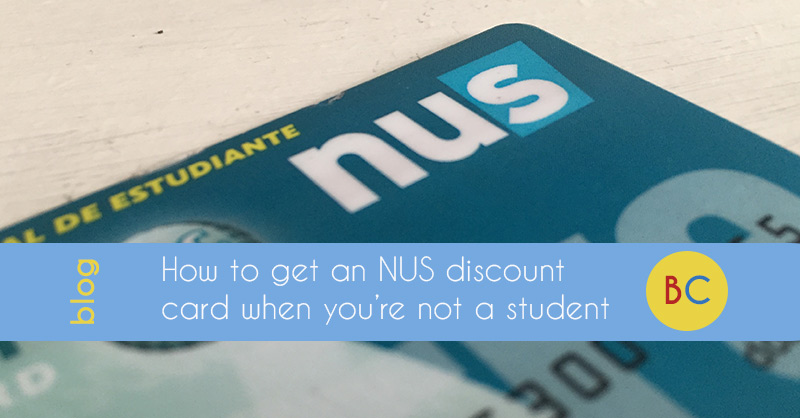 Cash hacks: How to get an NUS student discount card, even