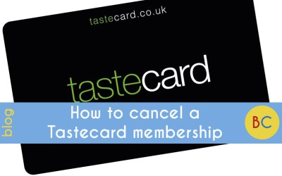 How do you cancel a Tastecard membership?