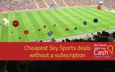 Cheapest ways to watch Sky Sports without a subscription – inc Free with cashback | 20% off NOW TV day pass | 10% off week pass | Free passes with beer packs