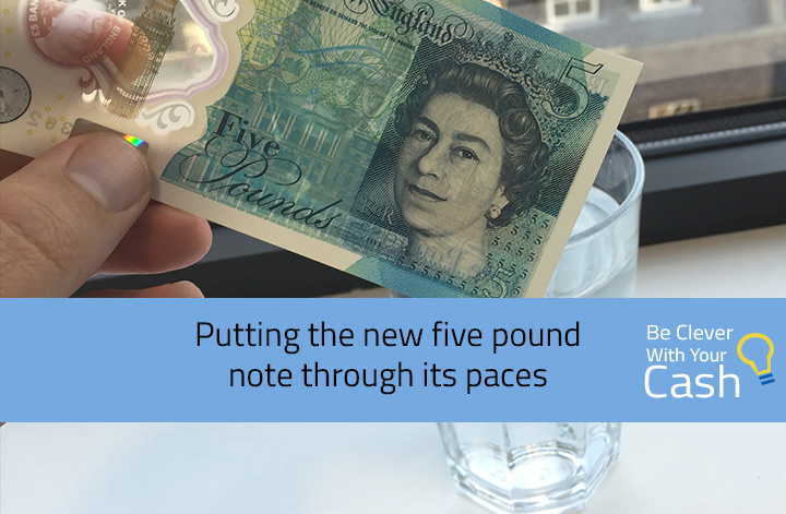 Video: Putting the new fiver through its paces