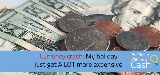 currency crash holiday expensive
