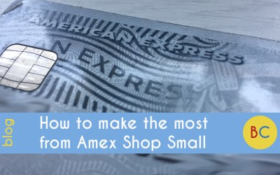 How to make the most from Amex Shop Small 2020 – back from June to September