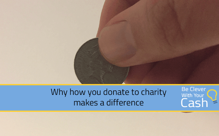 Why how you donate to charity makes a difference