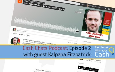 Cash Chats podcast episode 2 with guest Kalpana Fitzpatrick