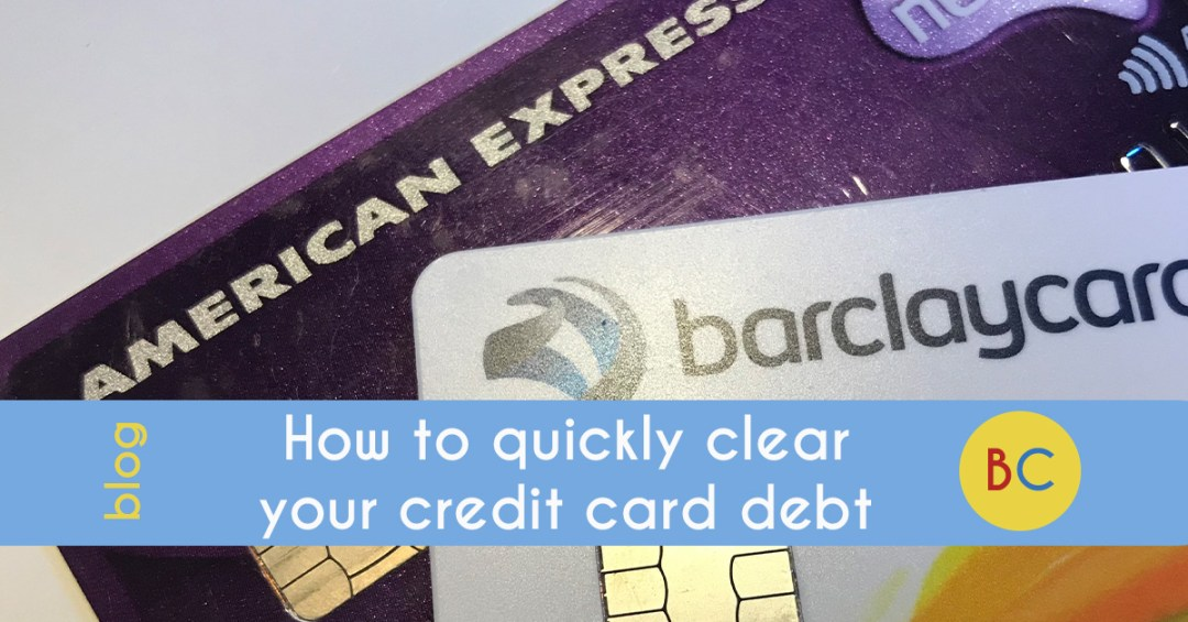 how to quickly clear credit card debts