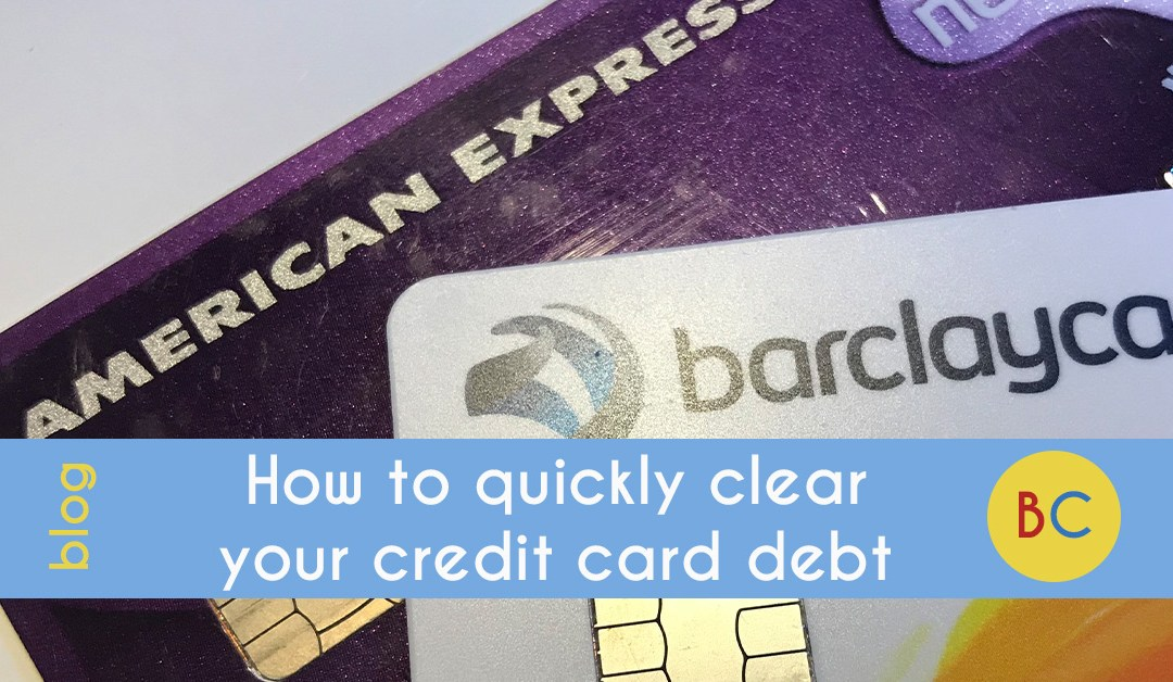 How to quickly clear your credit card debt