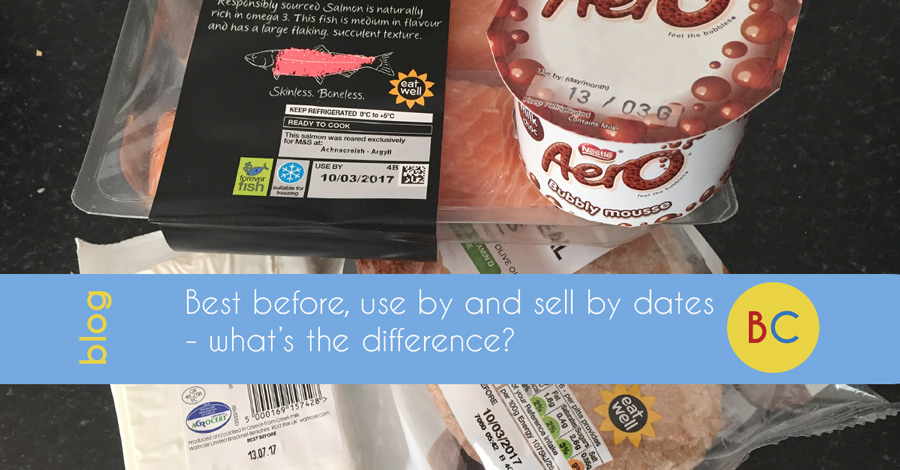 Best before, use by and sell by dates – what's the difference?