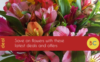 Flower discount codes and offers – best Valentine's Day deals
