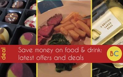 Latest food & drink deals inc Uber Eats/Amazon Restaurant codes | £1 lunch deals | 2-4-1 craft beer