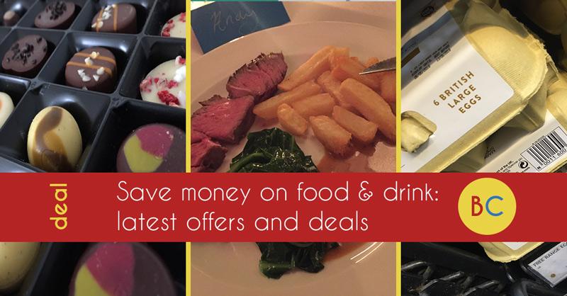 Latest food & drink deals inc Easter egg sales | Supermarket vouchers |