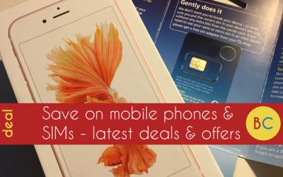 Mobile phone and SIM only deals – EE Sim for under £5 after voucher & freebies