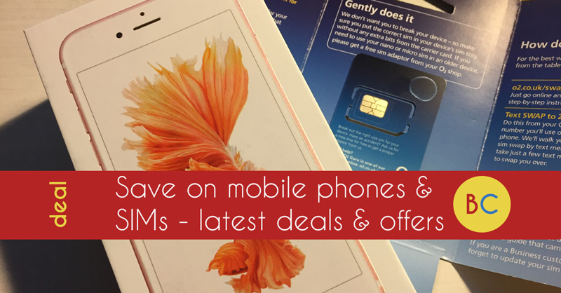 save on mobile phones and sim only -deals and offers